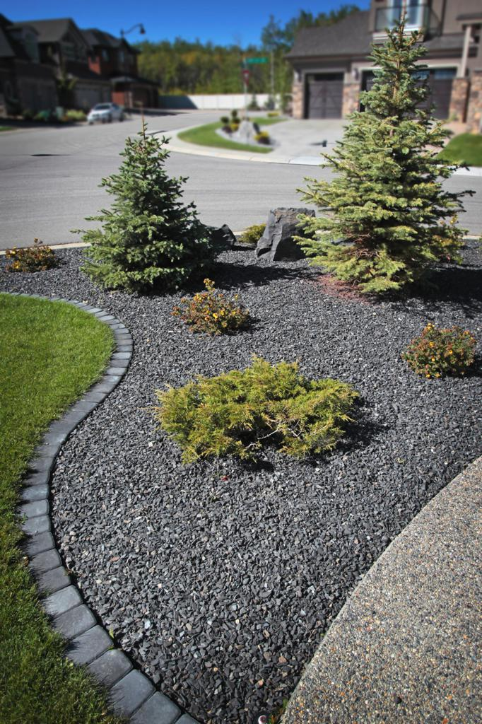 Landscape Borders And Beds Landscaping Company Assiniboine