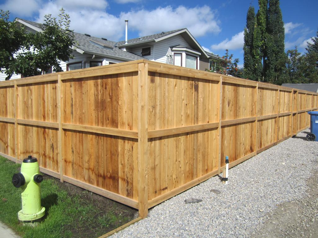 Fence Amp Gate Construction Calgary Landscaping Company