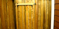 Gates - pressure treated gate