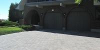 Driveway - Roman euro paving stone
