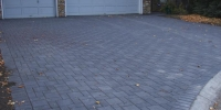 Driveway - Charcoal holland double holland paving stone