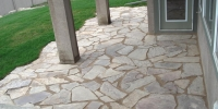 Patio - flagstone pattern