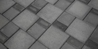 patio - Holland Pavers in Charcoal