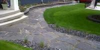 pathway - flagstone path