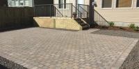 patio - Rustic Roman Euro Paving Stone Patio