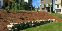 natural-stone-retaining-wall-with-mulch-bed-behind