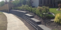 retaining wall - pisa II and capstone