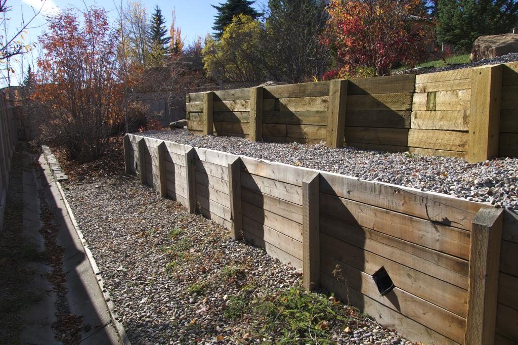 Retaining Walls Calgary Landscaping Company Assiniboine