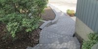 steps - pisa II revers a cap with cobble pavers