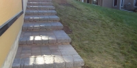 steps - roman pisa revers a cap with roman euro pavers