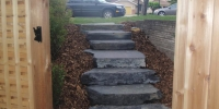 steps - rundle stone slab steps