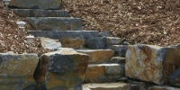 steps - Ironstone slab Steps