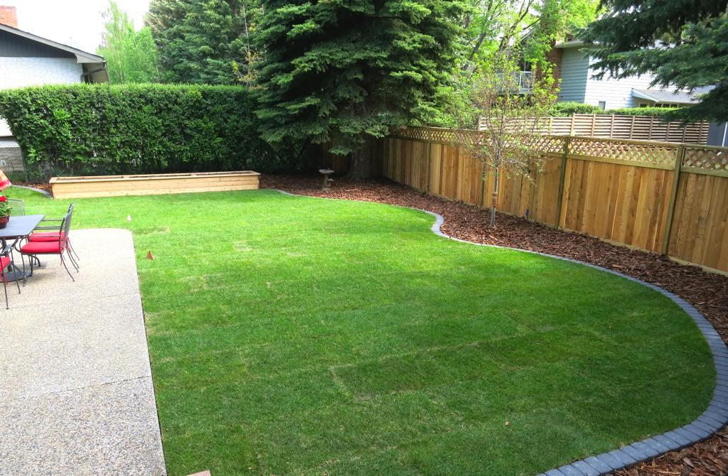 New Sod Care Assiniboine Lights Amp Landscapes