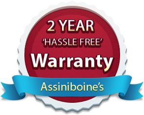 Assiniboine's 2 Year Landscape Warranty